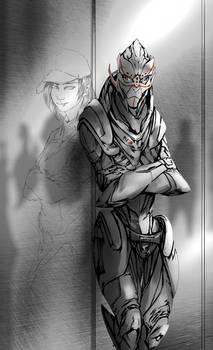 Turian Shepard By Thewyvernsweaver