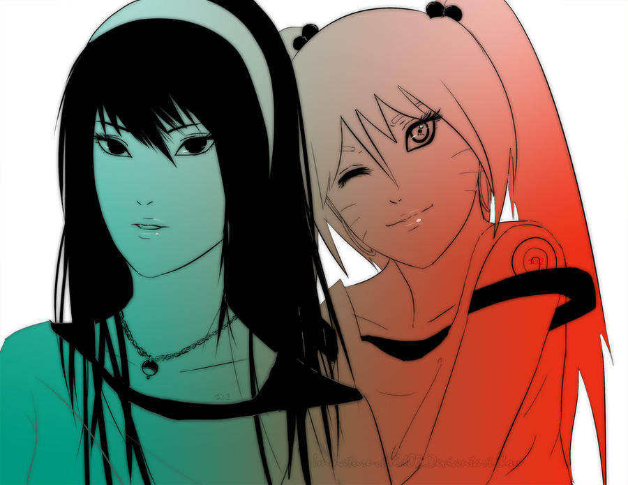 Naruto X Sasuko Naruko and Sasuko by