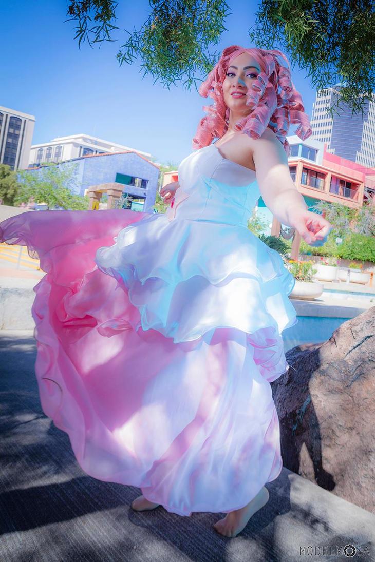 Dancing Rose Quartz Steven Universe by CosplayKoneko