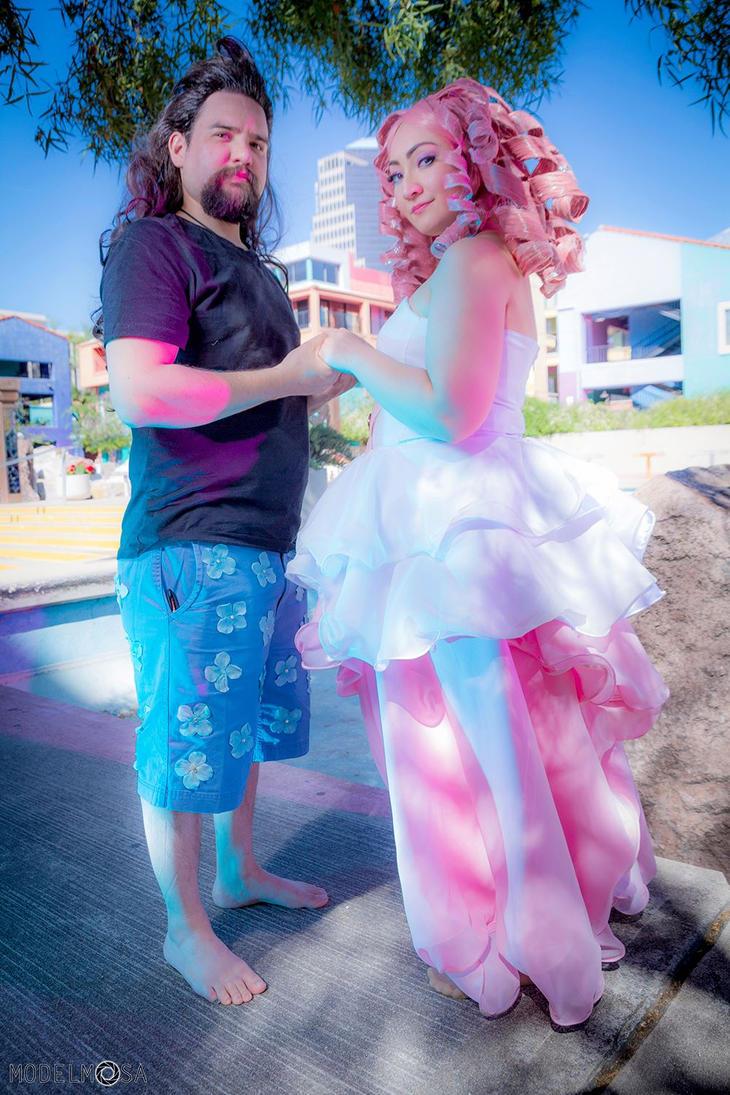 Steven Universe Greg and Rose by CosplayKoneko
