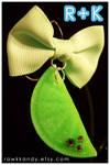 Citrus Pendant in Lime Green