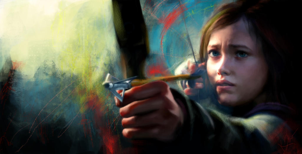 The Last Of Us: Ellie by madaboutvampires