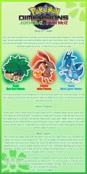 Pokemon Dimensions Spring Update 2017 by MeetYourReaper