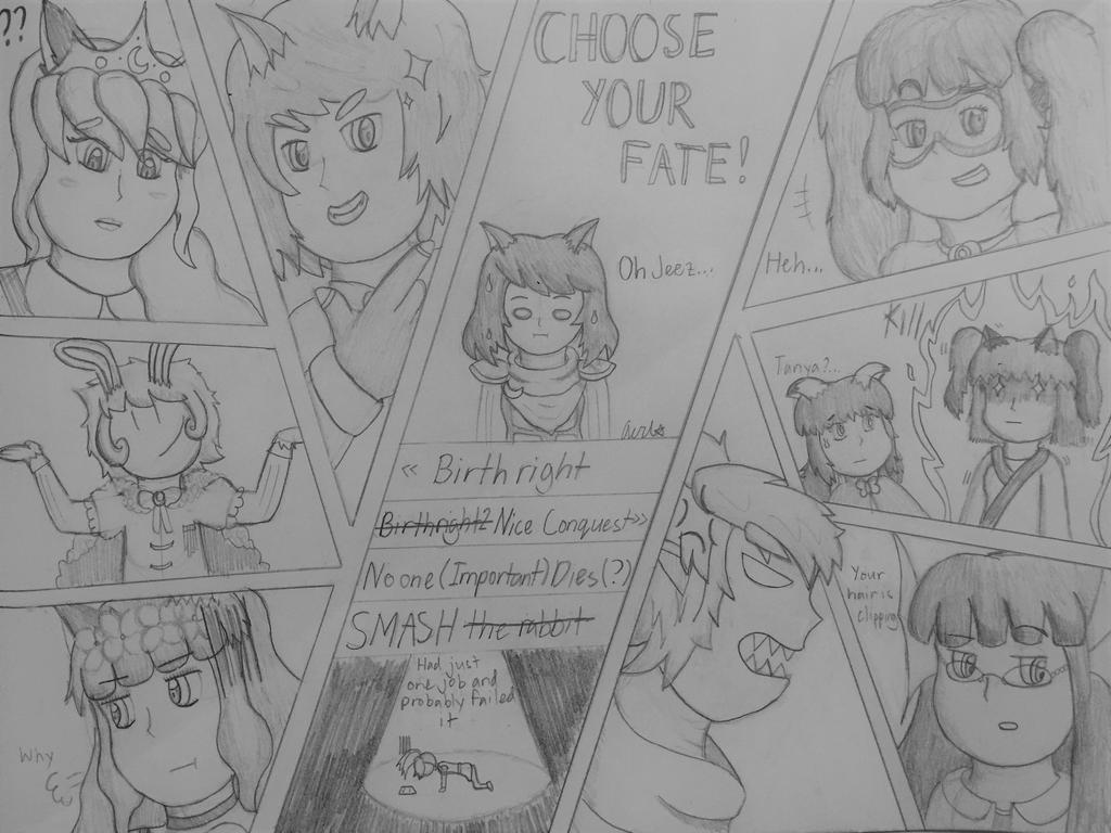 Star Emblem Fates - Choose your fighter by Staremprezz