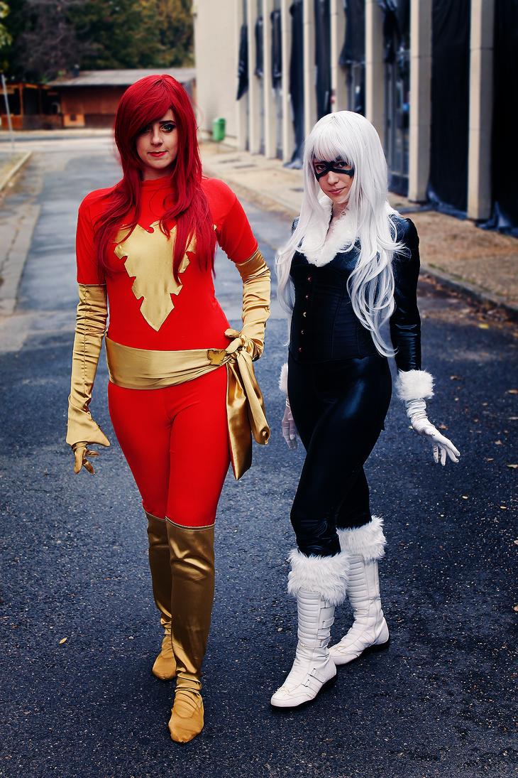 Marvel girls by kanamecosplay