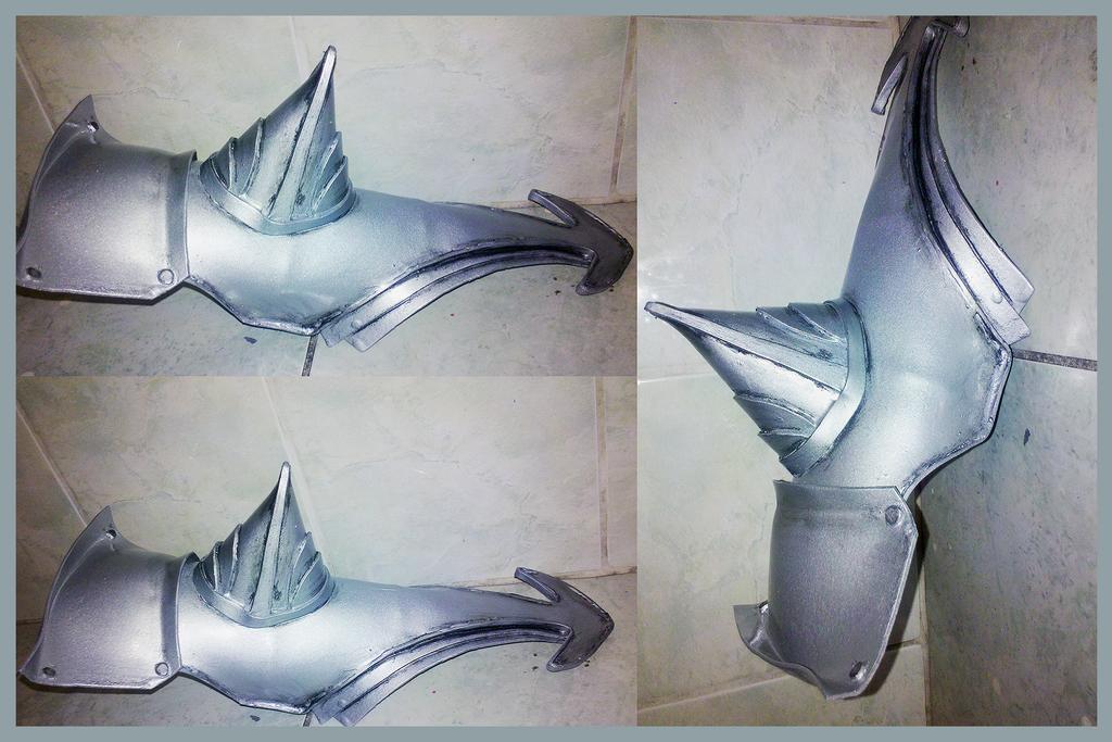 Final Fantasy XIII-2-Lightning armor in progress by kanamecosplay