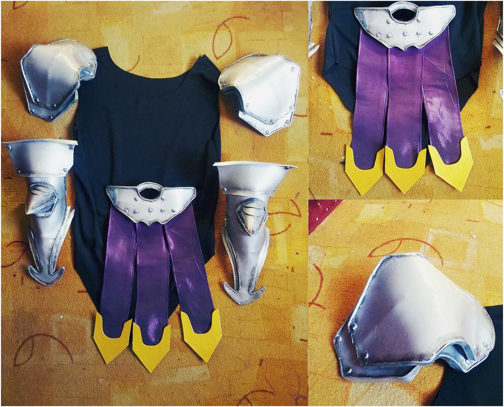 Final Fantasy XIII-2- Etro's armor in progress by kanamecosplay