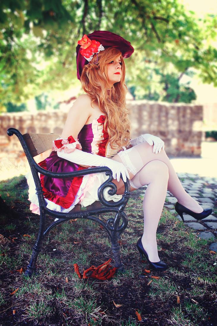 Charlotte-Sakizou artbook cosplay by kanamecosplay