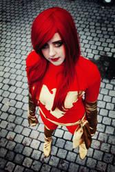Dark Phoenix cosplay-X-men by kanamecosplay