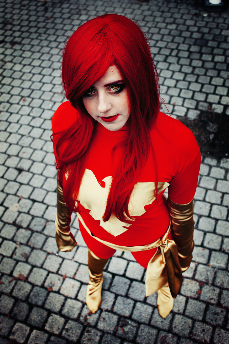 Dark Phoenix cosplay-X-men by kanamecosplay