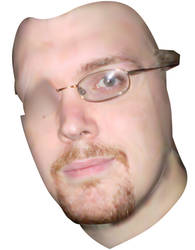 Mesh Self Portrait WIP by adamwparsons