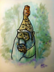 Chicken in a Dress by adamwparsons