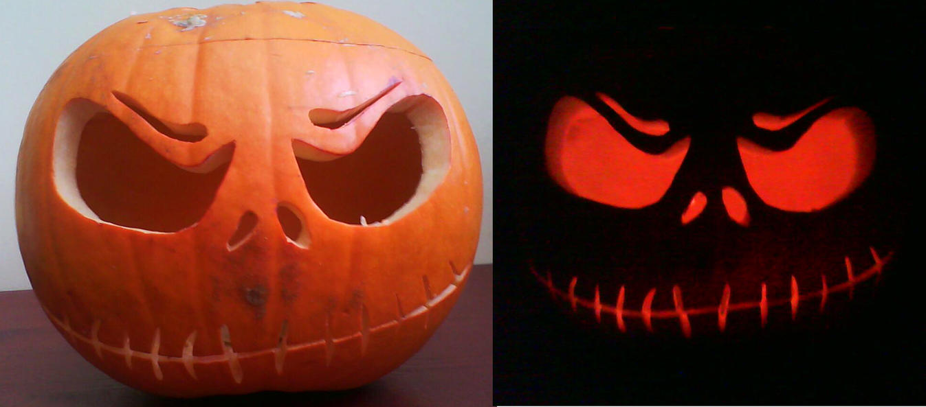 Pumpkin 2009 - Jack Skeleton by gothiclass on DeviantArt
