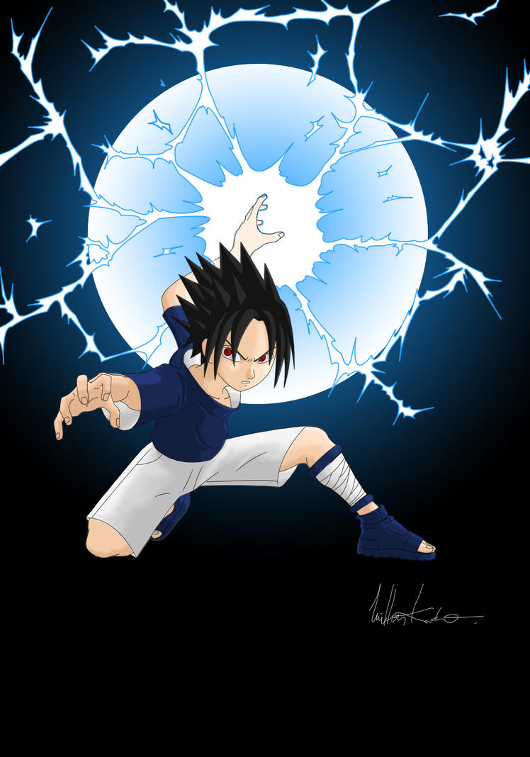 Sasuke - Chidori by rizatarou on DeviantArt