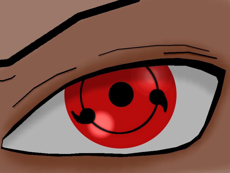 Sasuke new sharingan eyes