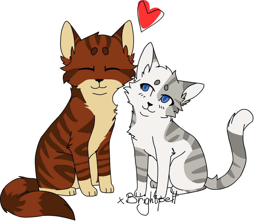 Ivypool x Foxleap by xBrightpeltIvypool And Foxleap