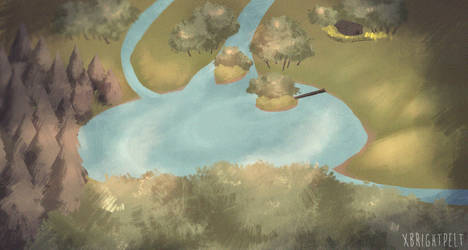 Warriors Lake territory by xBrightpelt