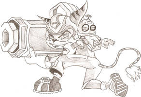 Ratchet and Clank by KiloWattKid