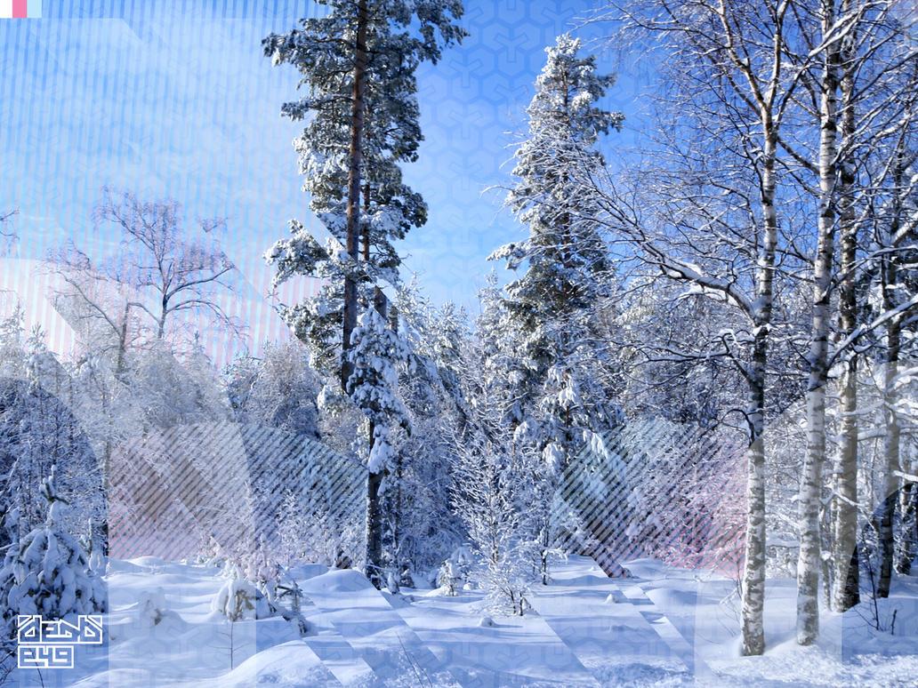 Pink Winter by juutin