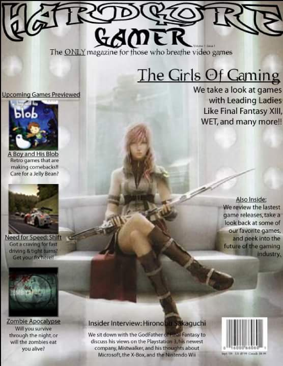 Magazine Cover Concept by Jade-bones