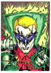 Green Lantern Sketch Card