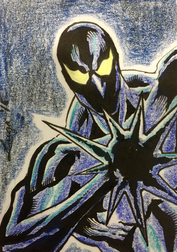 Invictus Sketch Card by aldoggartist2004