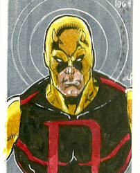 Daredevil Sketch Card Side 2 by aldoggartist2004