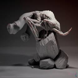Sculpt January 2019 Day 15 Hybrid by RafaCM