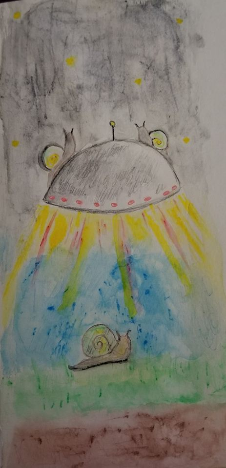 Space snails by Lemonumi