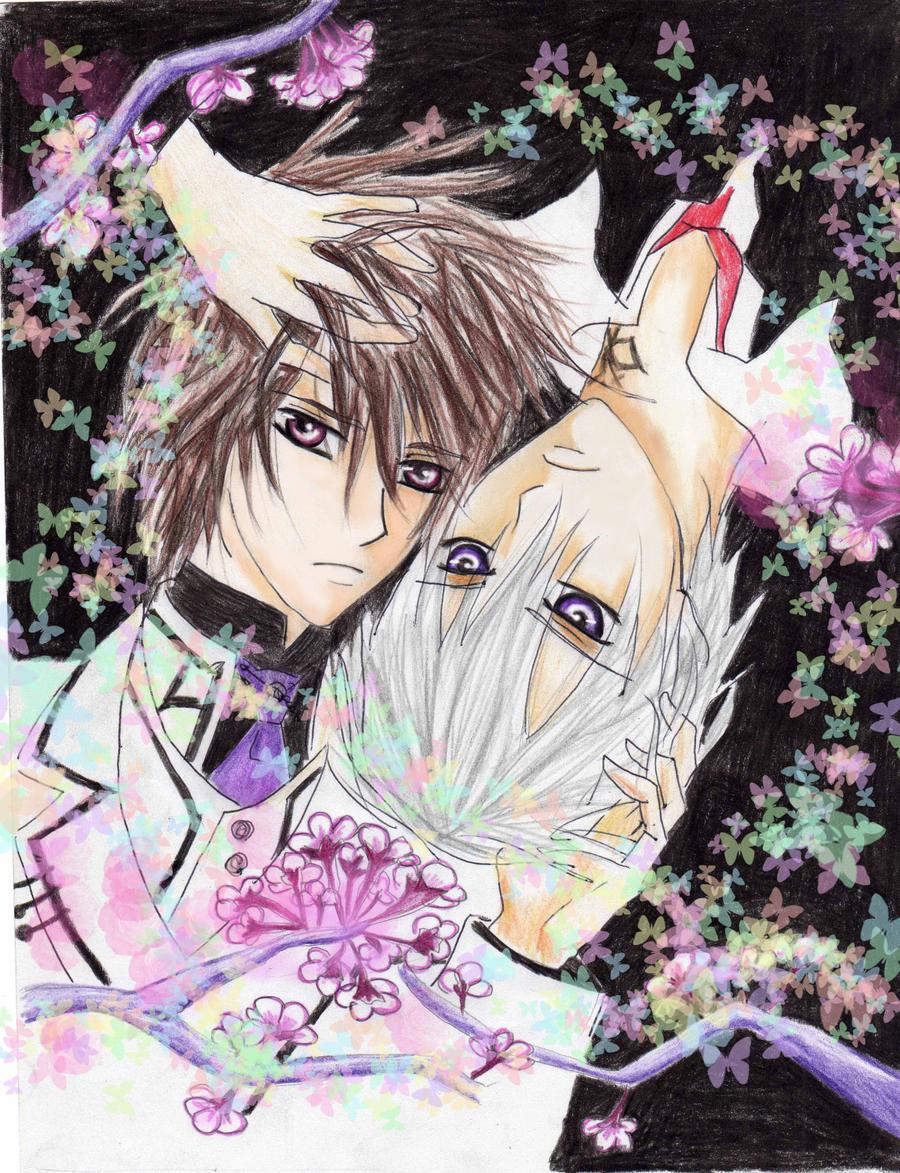 zero x kaname vampire knight by marisss-shonen-ai on ...