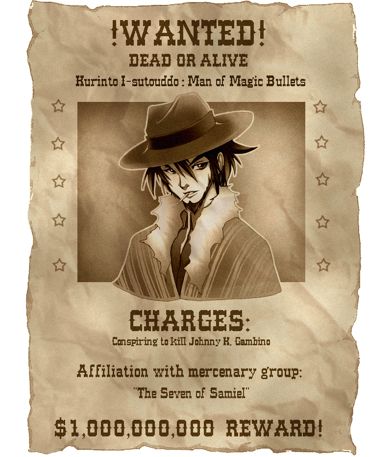 Wanted by yaoifan