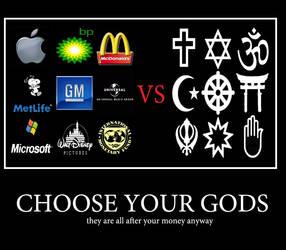 Choose your Gods