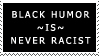 Black Humor Stamp by Sc1r0n