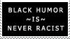 Black Humor Stamp by Sc1r0n