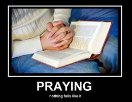 Praying Fail by Sc1r0n