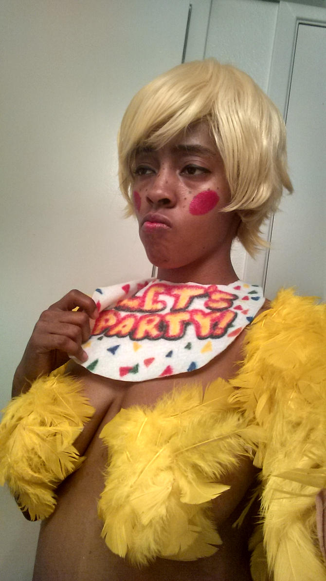 toy Chica cosplay WIP 2 by CryHOg