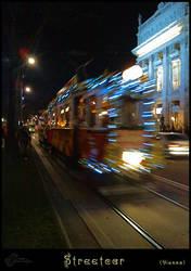 Streetcar, Vienna by Charmadige