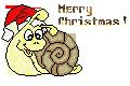 Slug-Pix-002, Merry Xmas, SunnyTimes-FreeSigntag by Charmadige