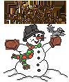 Snowman-Pix-001, HappyHolidays by Charmadige