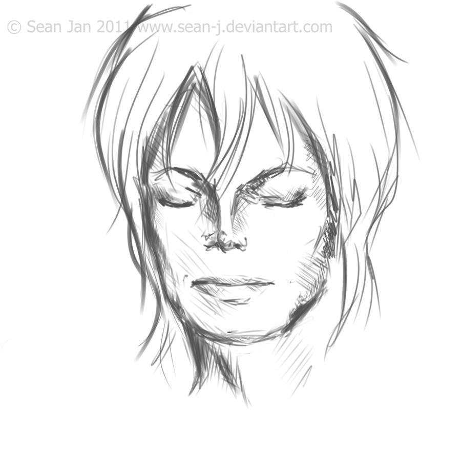 M J Sketch Images MJ Sketch by sean-J