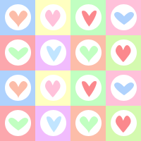 Pastel Hearts Blocks by iceblulady