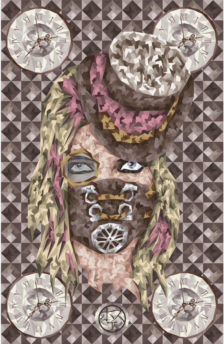 Steam Girl by joshpunkangel