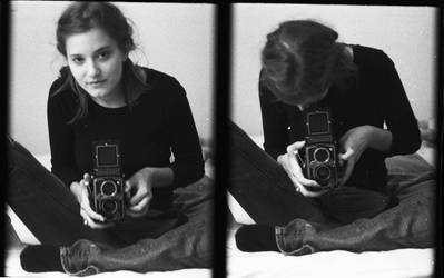 Me with my Rollei