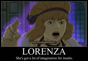 Lorenza Demotivational by SayokoHattori