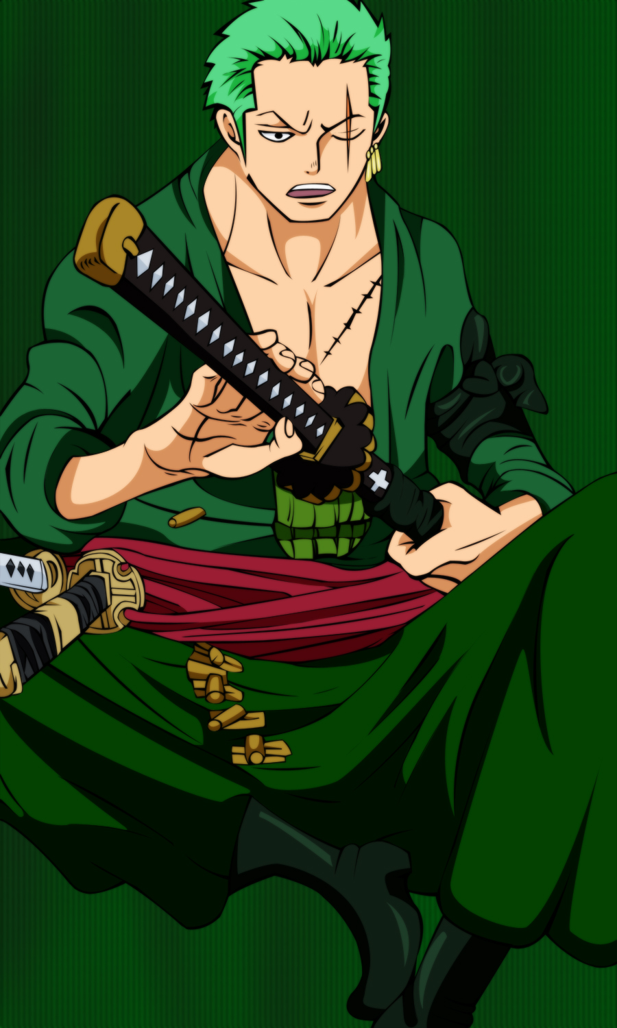 Zoro after 2 years by X-Ray99 on DeviantArt
