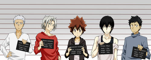 KHR: Convicts by X-Ray99