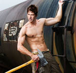 SGA:John Sheppard as a fireman