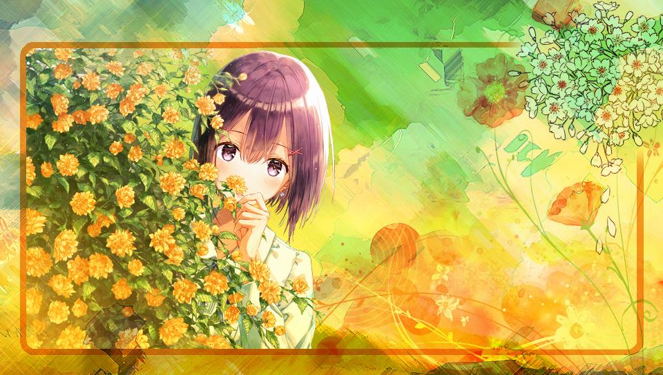 Vita Main Screen - Summer Flowers by Maykka