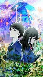 Phone background - Couple by Maykka