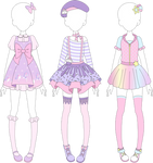 MRA: Fairy Kei Designs 1 by MappyMaples